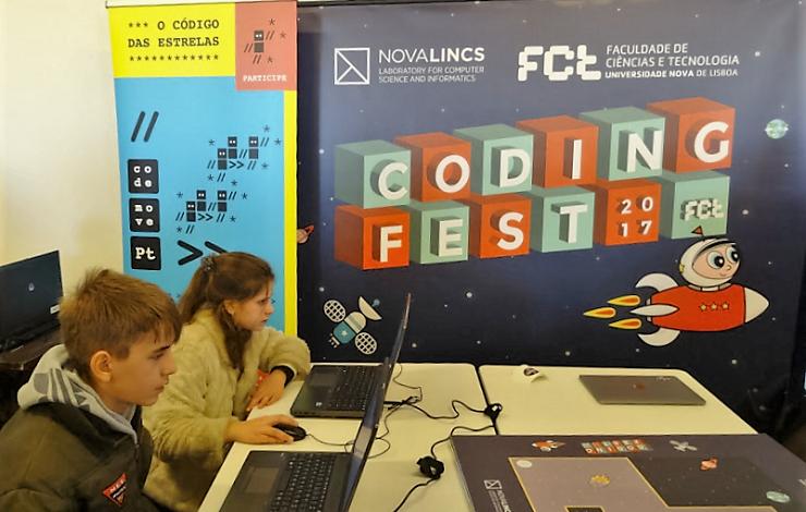FCT CodingFest na 1ª Conferência Portugal INCoDe.2030